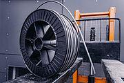 Metalizační drát na cívce