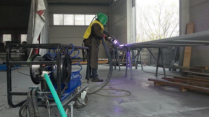 Ukázka metalizačního systému v praxi