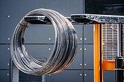 Metalizační drát ve svitku