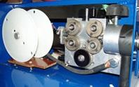 Pohled zevnitř - metalizační systém AVD150